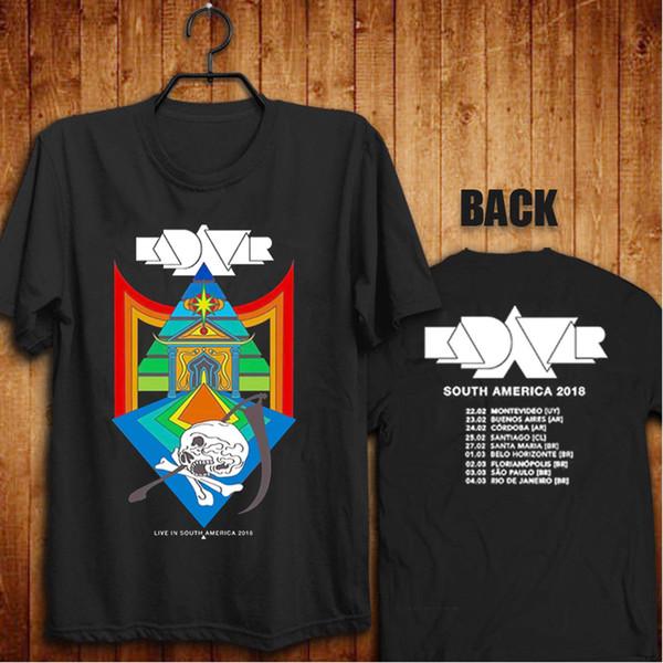 9f833698 Kadavar Tour 2018 In South America new T-Shirt 2018 short sleeve t shirt men