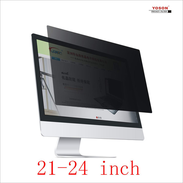 best selling YOSON 21.3 21.5 21.6 22 23 23.6 23.8 24 inch desktop screen Privacy Filter anti peep film   anti reflection film   anti spy film