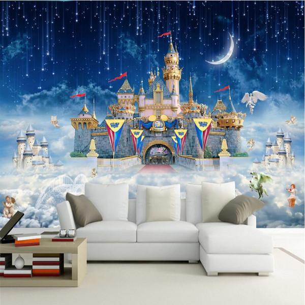 Compre Dibujos Animados 3d Photo Wallpapers Hd Custom 3d Murals Fondos De Pantalla Para Niños Niñas Niños Habitación Decoración Para El Hogar Fondos