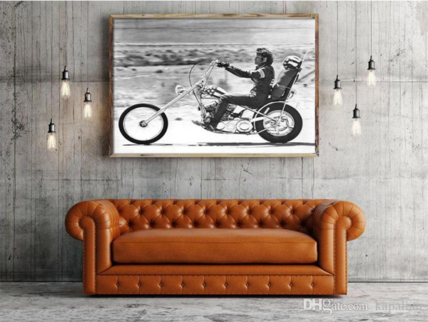 Free Shipping Harley Motor Easy Rider Movie Poster High Quality Art Posters Print Photo paper 16 24 36 47 inches