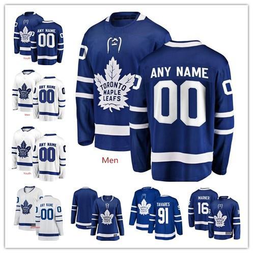 Cu tom toronto maple leaf 91 john tavare au ton matthew any name number per onalized jer ey men 039 women youth ice hockey titched j, Black;red