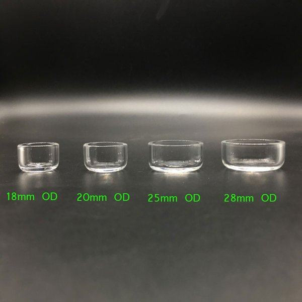 Removable Quartz Insert Flat Top Thermal Skillet Quartz Insert Honey Bucket for Flat Top Quartz Banger Nails Oil Rigs Glass Bongs