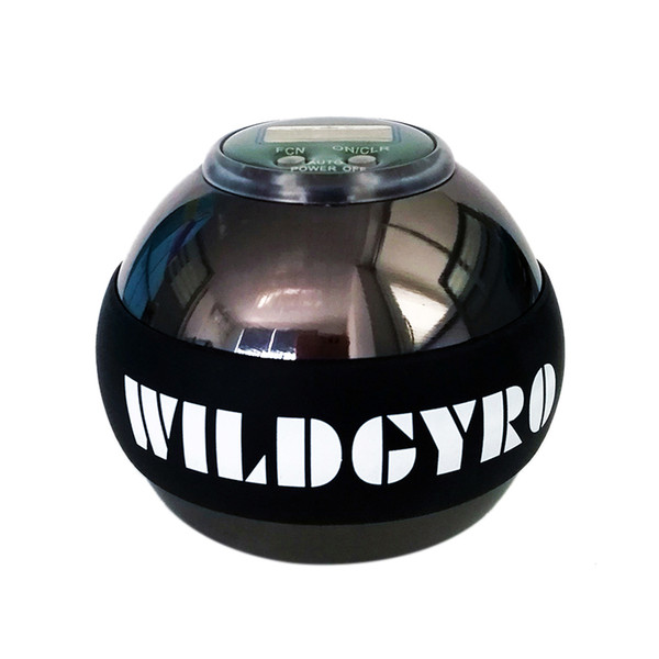 Metal Gyroscope Ball Arm Muscle Relax Exerciser Strengthener Rotor Gym Hand Exerciser Wrist Power Ball Meter Counter Gyro
