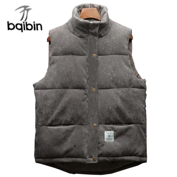 Vest Men 2018 New Autumn Winter Warm Sleeveless Jacket Waistcoat Men'S Vest Fashion Casual Coats Male Clothes Legible