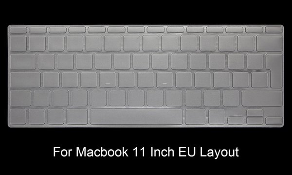 """TPU US EU Keyboard Cover Protector For Macbook Air 11 13 Retina Pro 12"""" 13"""" 15"""" 17"""" for New Mac iMac and Magic keyboard"""