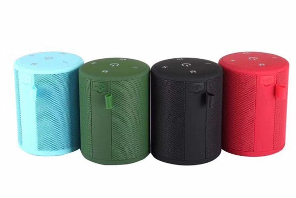 T2 Mini Bluetooth Speaker Portable Wireless Stereo Hi-Fi Boxes Outdoor Bathe Waterproof Support SD TF card FM Radio