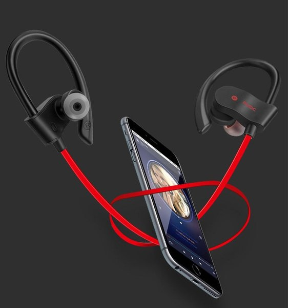 56S Sports In-Ear Wireless Bluetooth Earphone 4.1 Stereo Earbuds Headset Bass Earphones with Mic for Smart Phone 100pcs/lot