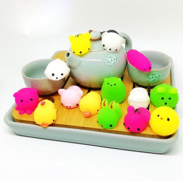 top popular Squishy Slow Rising Jumbo Toy Bun Toys Animals Cute Kawaii Squeeze Cartoon Toys Mini Squishies Small Animal Seals Squishiy Fashion Rare Anim 2019