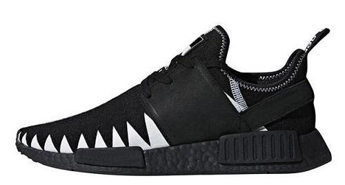 Großhandel Adidas NMD Boost MD R1 Oreo Läufer Pk Nbhd Primeknit OG Dreifach Schwarz Weiß Camo Laufschuhe Männer Frauen Sneaker Läufer Männer