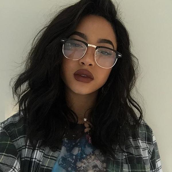 Cheap 9a 2018 productos de moda 100% sin procesar remy virginal del pelo humano peluca llena natural rizada del cordón del color natural para las mujeres