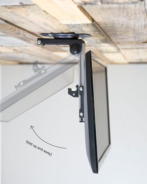 Großhandel Faltbare Auto Decke 14 40 Zoll Bildschirm LED LCD Monitor Halter  TV Halterung Kleiderbügel Wandhalterung Rack Cabinet TV Halter Von Lentil,  ...