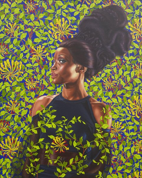 top popular Shantavia Beale II 2012 Kehinde Wiley Painting Art Poster Wall Decor Pictures Art Print Poster Unframe 16 24 36 47 Inches 2021