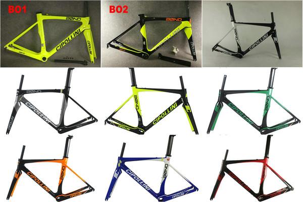Marco de bicicleta de carretera de carbono de 80 colores Marcos de marcos de bicicleta de carbono BB68 o BB30 2018