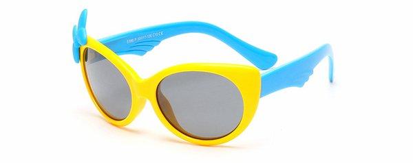 gelber Rahmen + blau