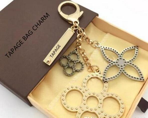 zhu 2018 perforated Mahina leather TAPAGE BAG CHARM M65090 Key Holder Box comes with free shipping dust bag