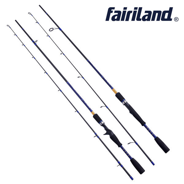 6.6/ 7ft 1.98/2.1m Spinning Casting rod L UL power baitcasting fishing rod high carbon fiber 2 SEC lure rod