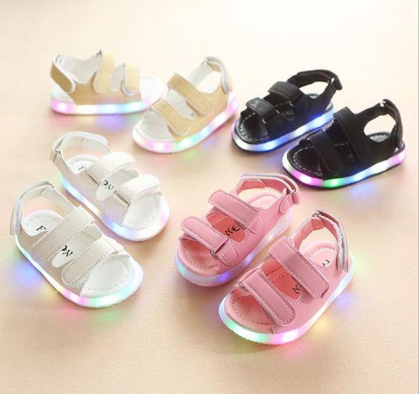 Children's Sandals Summer Style Children Sandals Girls Princess Beautiful Flower Shoes Kids Flat Sandals Baby Girls Roman Shoes
