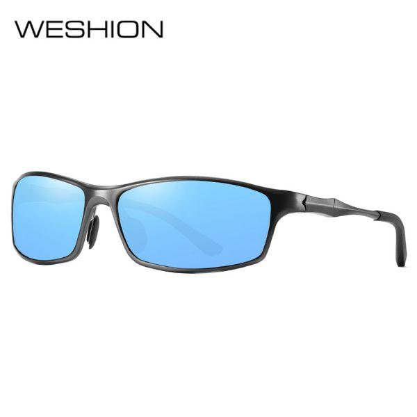 Ultralight Sport Sunglasses Men Polarized Men Retro Sunglasses Aluminium Magnesium Frame Fishing Shades oculos de sol masculino