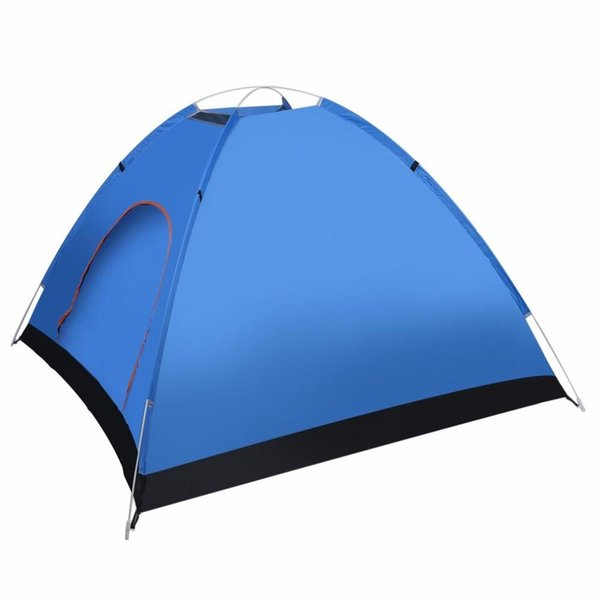 Wholesale- (Ship From US) 3-4 Person Quick Automatic Pop Up Opening Beach Sun Shade Shelter Outdoor Camping Fishing Hiking Family Tent