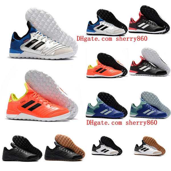 2017 men soccer cleats Copa Tango 18.1 TF IC cheap indoor soccer shoes original Copa 18.1 football boots turf futsal shoes