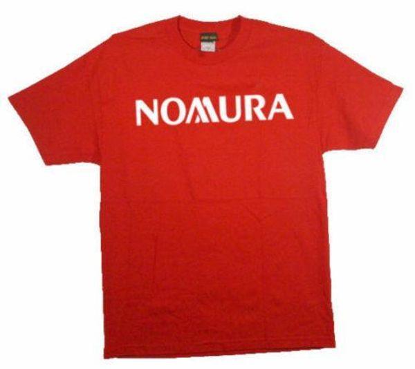 NOMURA Holdings T-shirt bancaria giapponese Mens 2018 Marchio di moda T Shirt O-Collo 100% cotone T-Shirt Top Tee