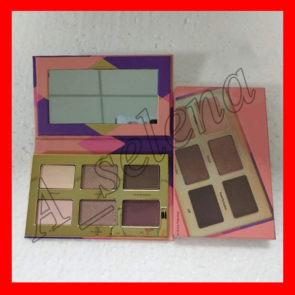 Selling tea e eye hadow palette himmer glitter clay eye hadow palette high performance natural 6 color dhl hipping