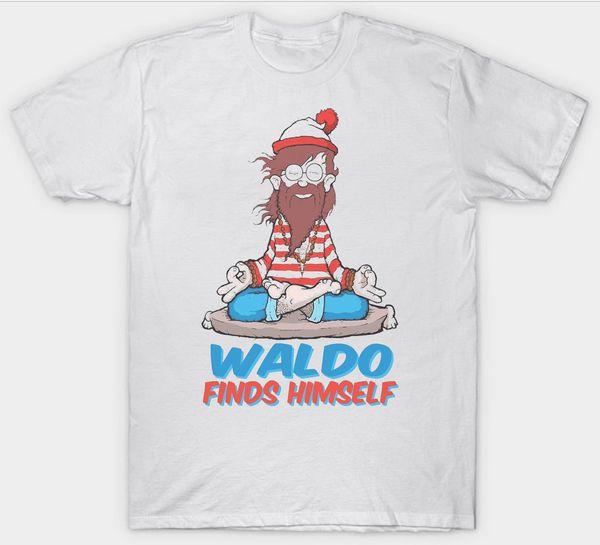 Compre Onde Esta Waldo T Camisa Livre Wally Livros Livro Meditacao