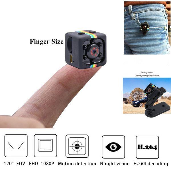 Mini Pro 1080P Portable Petite Nanny Cam avec vision nocturne Capteur de mouvement caméra de surveillance de la sécurité intérieure Parfait pour la maison
