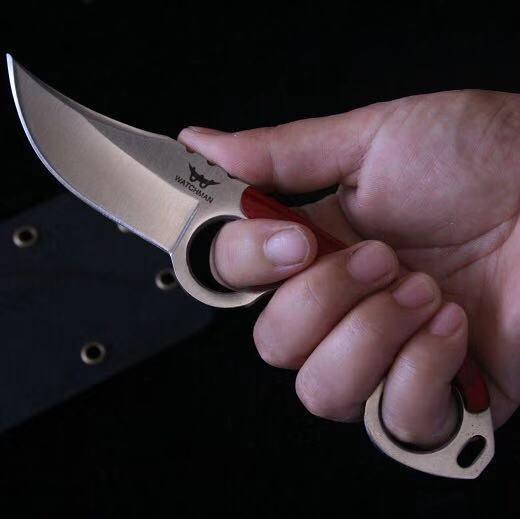 Fixed Blade Jagd Straight Knife Claw Karambit Messer Tactical Survival EDC Werkzeug Outdoor Geer Camping Top Qualität Fabrik zum Verkauf MH152-B