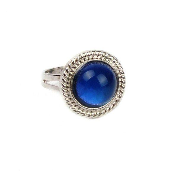 Atacado-Fine Jewelry Sun Mood Ring Mudança de Temperatura Cor Anéis de Humor para Mulheres Homens Fine Jewelry presente partido para namorada Guest