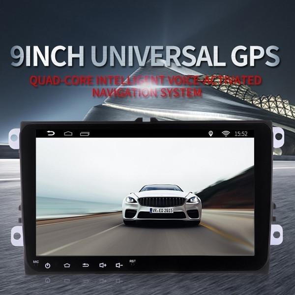 "Myfuncars 9"" in 2 din Android car multmedia player GPS for Volkswagen/VW Golf 5/6 passat CC B6/B7 polo Skoda/Seat/Leon Radio"