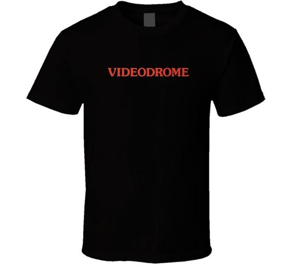 Videodrome klassische sci fi film t-shirt cool lässig stolz t shirt männer unisex neue mode t-shirt lose größe top ajax 2018 lustig