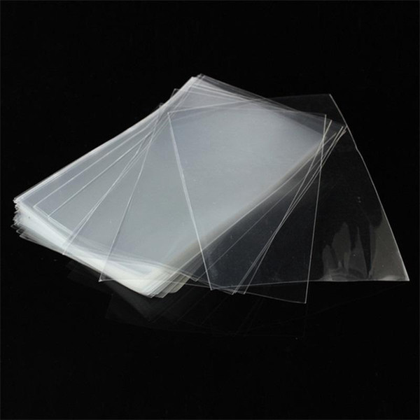 Opp Flat Packing Bag Transparent Plastic Bundle Pocket Food Lollipop Eco Friendly Security Bags Non Toxic Square Shape 1 42yh jj
