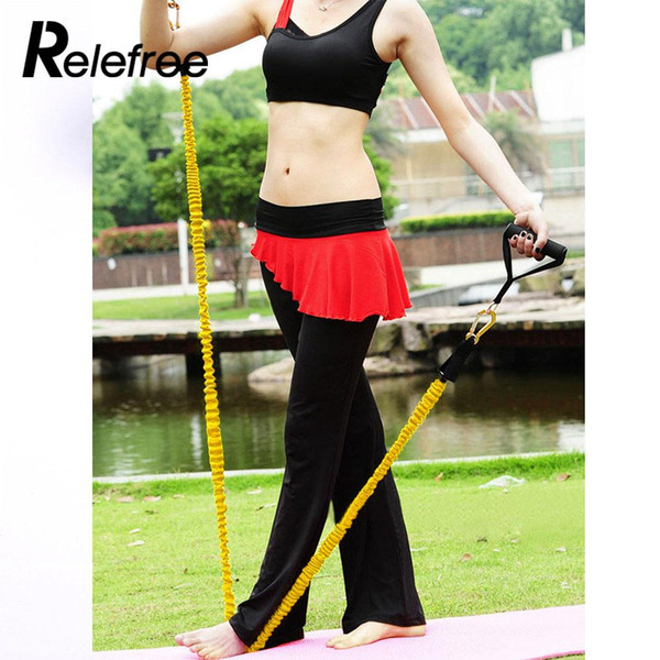 Yellow Stretch Arm Apparatus Chest Expander Fitness Pull Rope Puller  Flexible Pull Rope Practical Muscle Training Equipment Dumbbells Power  Bands From