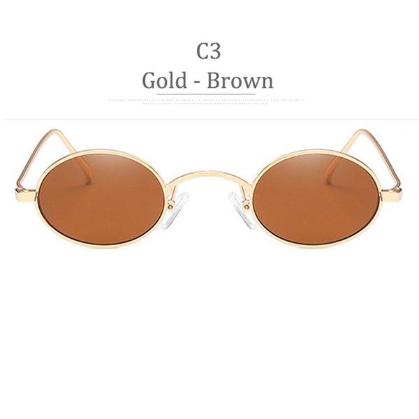 C3 Obiettivo marrone in oro