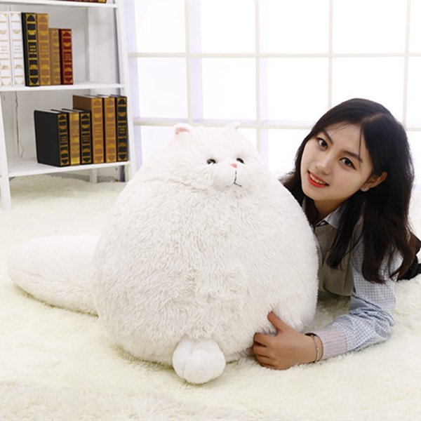 Kawaii Plush Fluffy Persian Cats plush Cats Toys for children stuffed animals Pillow cat doll for kids Christmas gifts