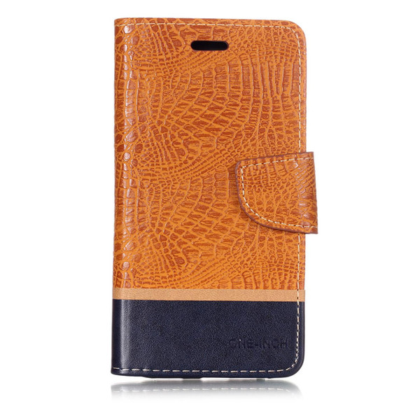 Splice Color wallet Case For Oneplus 6 1+6 Filp Cover Crocodile pattern PU Leather Mobile Phone Bags Latest fashion