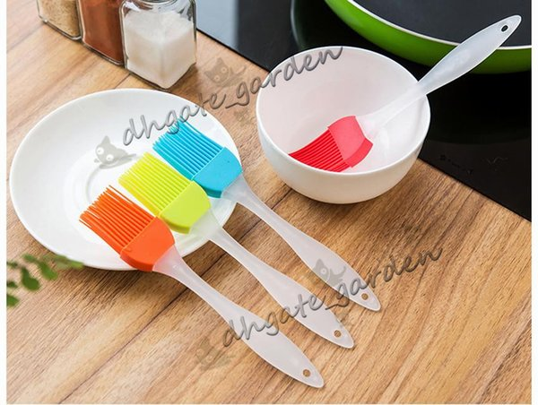Silicone Brush Baking BBQ Pastry Brushes Cake Cream Bread butter Grill Oil Heatproof Basting Brushes Cooking Tools Kitchen Gadget opp bag