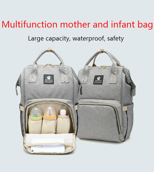 6 Colors New Multifunctional Baby Diaper Backpack Mommy Changing Bag Mummy Backpack Nappy Mother Maternity Backpacks