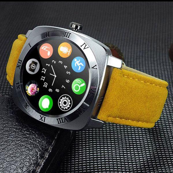 1pc Bluetooth Smartwatch X3 Smartwatch Phone Camera SIM Card Bluetoothwatch For IOS Android Men Women Smartwatch X3