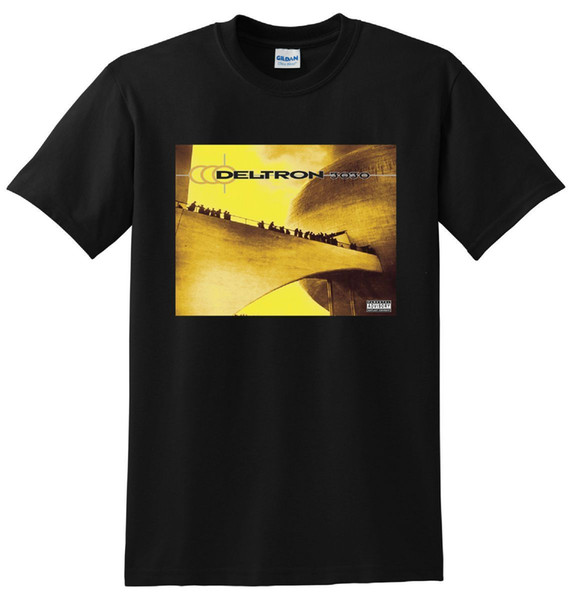 DELTRON 3030 T-SHIRT Vinyl CD Cover T-Shirt KLEINE MEDIUM GROß oder XL Herren 2018 Mode Marke T-Shirt O-Neck