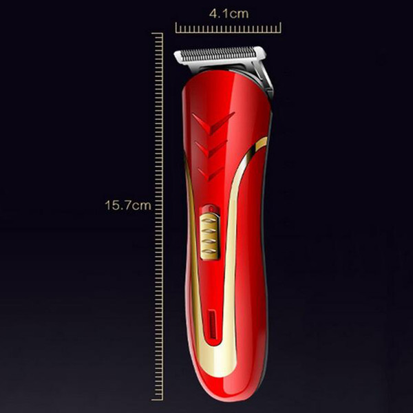KEMEI KM-1409 Hair Clipper Electric Razor Men Carbon Steel Head Shaver Hair Trimmer Rechargeable Trimer Electric Beard good quality