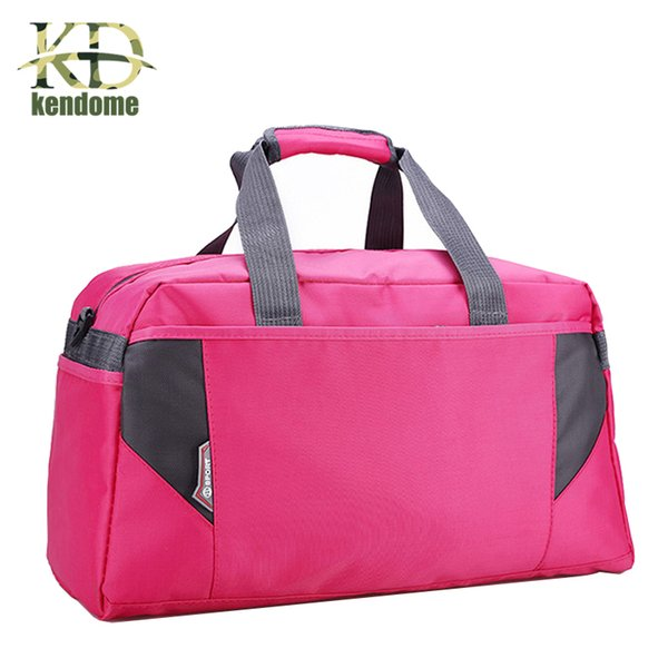 2018 Hot Nylon Sport Gym Bag Outdoor Waterproof women Handbag School Fitness Bag for Men Training Camping Female Yoga Duffel Bag Y1890402