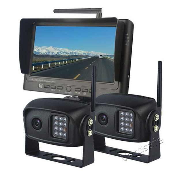 Vardsafe VS786T | Car Two Digital Wireless Rear View Reversing Backup Camera System
