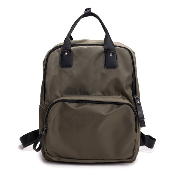 New 2018 Ribbon Nylon Oxford Backpack Female Travel Backpacfor Women Casual Canvas Waterproof School Bag