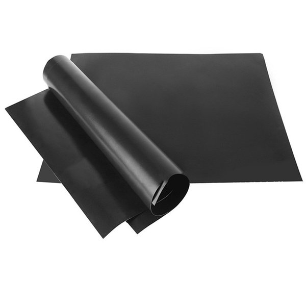 Hot Sale Non Stick Heat Resistance Outdoor Barbecue Healthy And ECO Friendly Convenient Grill Mats Black High Quality