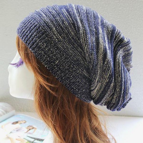 Laamei Women's Cap Skullies Beanies Female Crochet Hat Skullies Beanies Bonnet Femme 2018 Hip Hop Winter Caps Wholesale