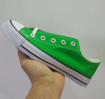 низкий зеленый