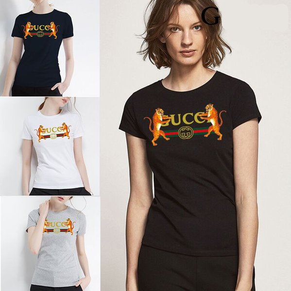 Brand Animal Print Slim Fit Tshirt men women Casual clothing new design summer T-shirt male top quality 100% cotton Tees Plus Size S-5XL