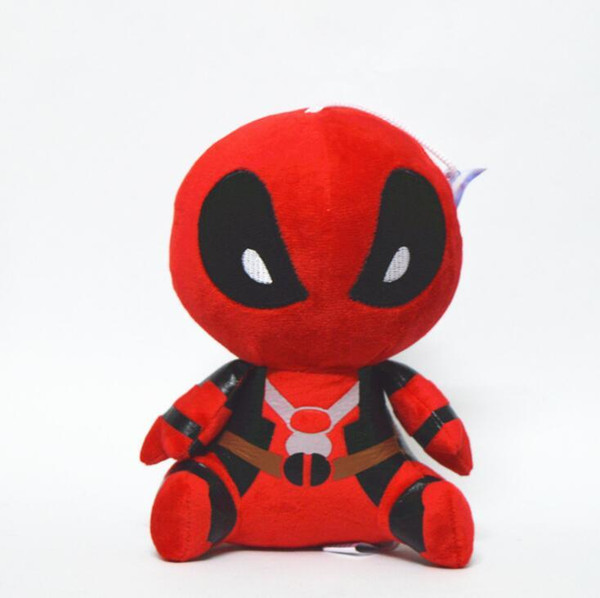 Spiderman plush doll New Deadpool Plush Doll 20cm Height Deadpool Plush Toys 8 inch